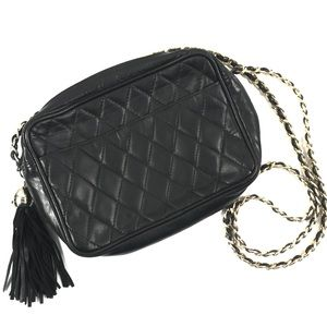 Neiman Marcus | Vintage Black Quilted Crossbody